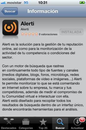 Alerti herramienta de monitorización online gratis
