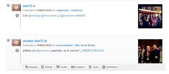 Metricas Instagram EBE12 #EBE12 Alerti Reputacion Online